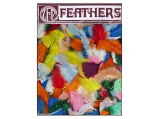 Zucker Feather Turkey Plumage Feathers 1/2 oz. Assorted Mix