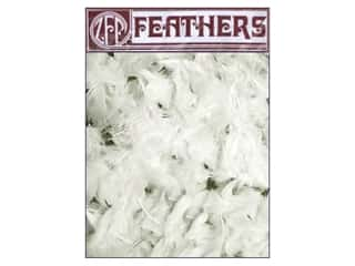 Zucker Feather Turkey Plumage Feathers 1/2 oz. White