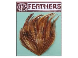 Feathers: Zucker Feather Hackle Pad 1 pc. Natural