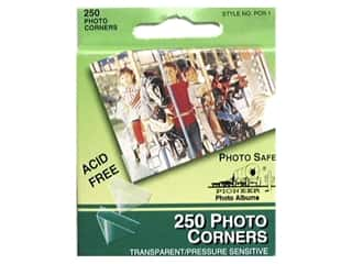 Pioneer Photo Corners 250 pc. Clear