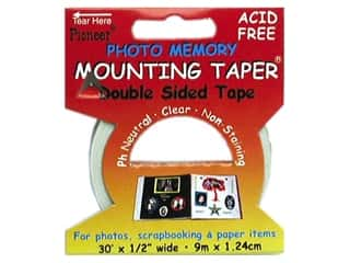 scrapbooking & paper crafts: Pioneer Photo Memory Mounting Tape 1/2 in. x 30 ft.