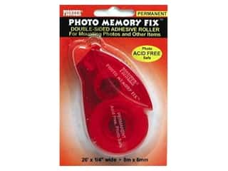 glues, adhesives & tapes: Pioneer Pioneer Photo Memory Fix Adhesive Roller 1/4 in. x 26 ft. Permanent