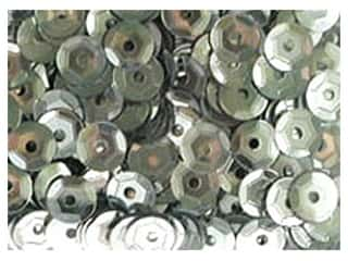 Clearance: PA Essentials 5 mm Cupped Sequins 800 pc. Silver