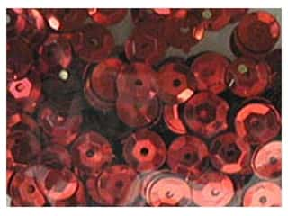 craft & hobbies: PA Essentials 8 mm Cupped Sequins 200 pc. Red