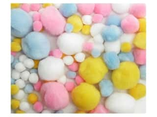 Pom Pom by Accent Design Variety Pack Pastel 100pc.