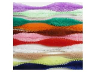 chenille stem bump: Bump Chenille Stems by Accents Design 15 mm x 12 in. Multi 12 pc. (3 packages)