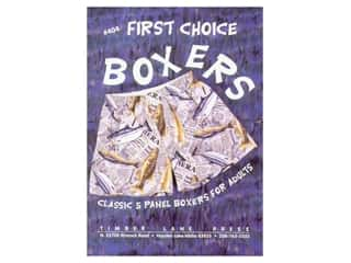 books & patterns: Timber Lane Press First Choice Boxers/Adults Pattern