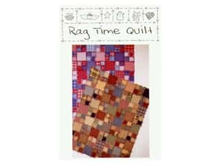 Quilting Patterns: Quilt Country Originals Rag Time Quilt Pattern
