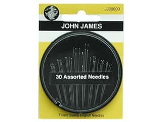 sewing & quilting: John James Sewing Needle Compact 30 pc. Assorted