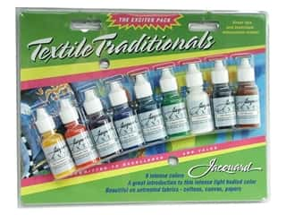 craft & hobbies: Jacquard Paint Exciter Pack Textile Traditionals