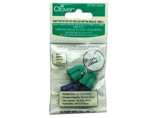 clover circular needles: Clover Point Protector For Circular Needles Small 4 pc.