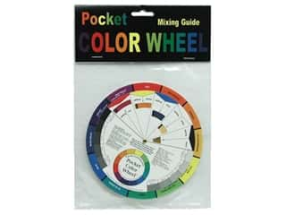 craft & hobbies: The Color Wheel Company Pock Mixing Guide Color Wheel 5 1/8 in.