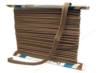Clearance: Conso Princess Cord with Lip 3/16 in. x 24 yd. Dark Sand (24 yards)