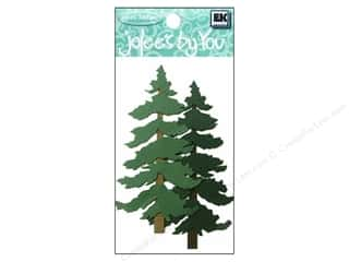 scrapbooking & paper crafts: EK Jolee's By You Greenery Pine Trees