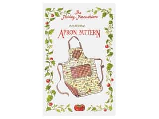 Paisley Pincushion Reversible Apron Pattern