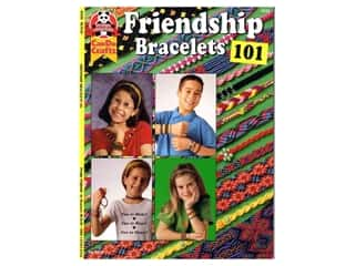 beading & jewelry making supplies: Design Originals Friendship Bracelets 101 Book
