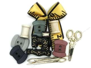 scrapbooking & paper crafts: Jesse James Dress It Up Embellishments A Stitch in Time