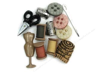 scrapbooking & paper crafts: Jesse James Dress It Up Embellishments Sewing Room