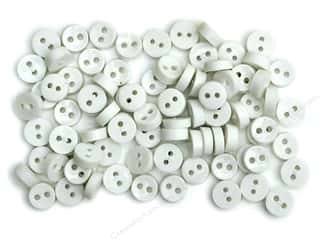 scrapbooking & paper crafts: Jesse James Embellishments Tiny Round White