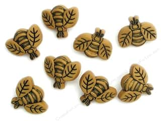 scrapbooking & paper crafts: Jesse James Dress It Up Embellishments Button Fun Large Bees