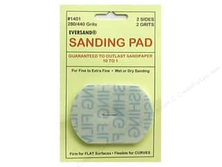 craft & hobbies: Eversand Carded Sanding Pads Small 280/400