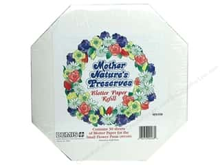 candle color: Mother Nature's Preserves Blotter Paper Refill 30 pc. Small