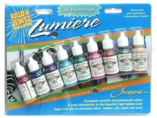 craft & hobbies: Jacquard Paint Exciter Pack Lumiere 2-Halo & Jewel Colors