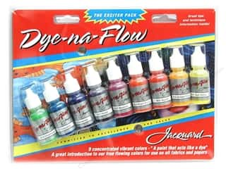 craft & hobbies: Jacquard Paint Exciter Pack Dyna-Flow