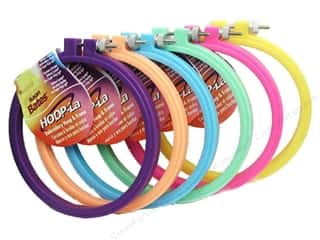 sewing & quilting: Susan Bates Hoop-La Embroidery Hoops 10 in. 1 pc.