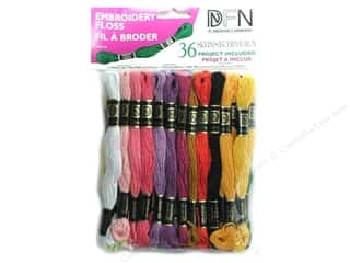 embroidery floss: Janlynn Embroidery Floss Pack 36 pc. Pastel