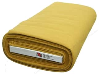 yellow and gold felt: National Nonwovens 20% Wool Felt 36 in. x 10 yd. Old Gold (10 yards)