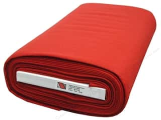 National Nonwovens 20% Wool Felt 36 in. x 10 yd. Red (10 yards)