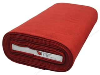 National Nonwovens 20% Wool Felt 36 in. x 10 yd. Barnyard Red (10 yards)