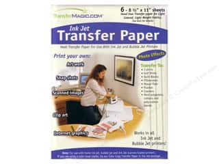 scrapbooking & paper crafts: TransferMagic.com Ink Jet Transfer Paper 6 pc