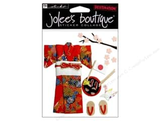 scrapbooking & paper crafts: Jolee's Boutique Stickers Kimono