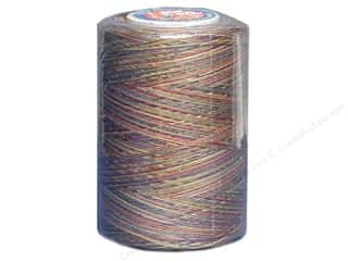 Coats & Clark Star Variegated Mercerized Cotton Quilting Thread 1200 yd. #811 Teaberries