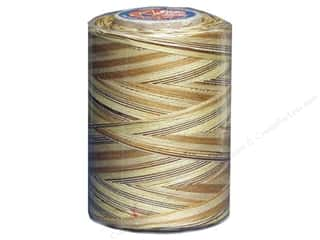 mettler mercerized cotton thread: Coats & Clark Star Variegated Mercerized Cotton Quilting Thread 1200 yd. #812 Sandstone