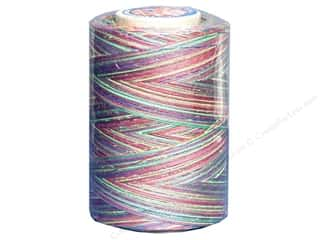 mettler mercerized cotton thread: Coats & Clark Star Variegated Mercerized Cotton Quilting Thread 1200 yd. #813 Over/Rainbow