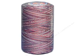 mettler mercerized cotton thread: Coats & Clark Star Variegated Mercerized Cotton Quilting Thread 1200 yd. #815 Americana