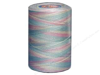mettler mercerized cotton thread: Coats & Clark Star Variegated Mercerized Cotton Quilting Thread 1200 yd. #865 Baby Pastels