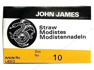 yarn & needlework: John James Milliners Needles Size 10 25 pc. (2 packages)
