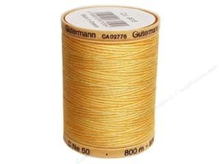 Gutermann Machine Quilting Thread 875 yd. #9918 Variegated Sunrise Yellow