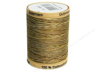 Gutermann 100% Natural Cotton Sewing Thread 875 yd. #9928 Variegated Butternut