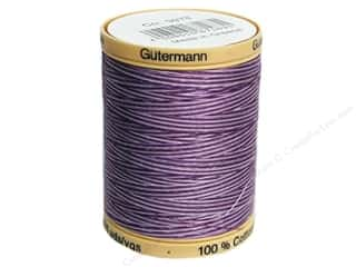 Gutermann 100% Natural Cotton Sewing Thread 875 yd. #9978 Variegated Purple Passion
