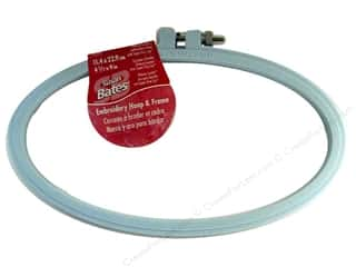 yarn & needlework: Susan Bates Plastic Embroidery Hoops 4 1/2 x 9 in. Blue