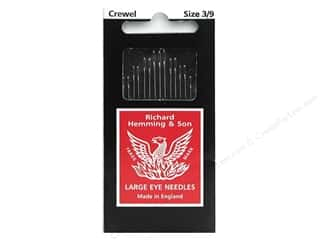 Hemming: Hemming Needle Crewel/Embroidery Size 3/9 15pc (3 packages)