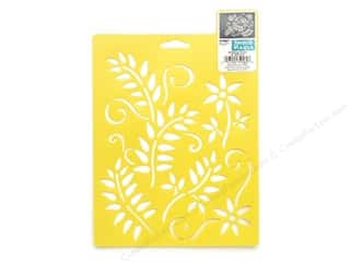 craft & hobbies: Delta Stencil Mania 7 x 10 in. Climbing Vines