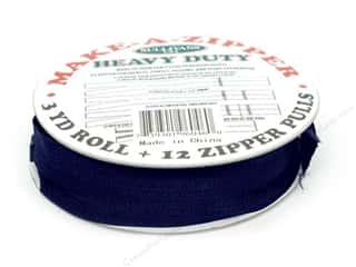 projects & kits: Sullivans Heavy-Duty Make-A-Zipper Kit 3 yd. Navy