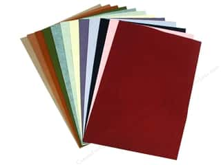 National Nonwovens 20% and 35% Wool Felt 12 x 18 in. Trendy Accents (10 sheets)