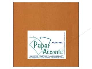 scrapbooking & paper crafts: Paper Accents Cardstock 12 x 12 in. #886C Pearlized Copper (25 sheets)